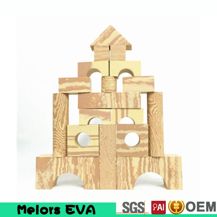 Melors Eva Foam Castle Building Blocks Toy Eva Kids