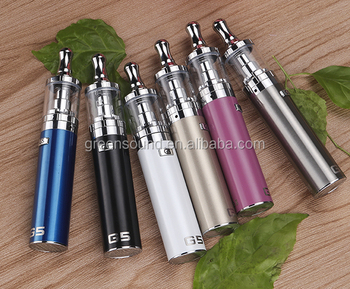 greensound patent electronic cigarette G5 ego ce4 Starter Kit EGO II 2200mah with 0.8ohm and 304 Stainless Steel G5 vape kit