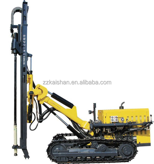 Mobile crawler rock drilling machine KG940A /soil drilling rig