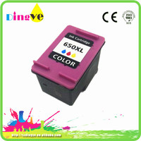 Inkjet Print Cartridge hp650 rechargable printer consumable ink cartridge hp650 for hp