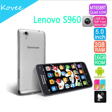 "Original Lenovo S960 Vibe X Ideaphone s960 5"" 2GB RAM 16GB ROM Quad Core 1.5GHz MTk6589W 13MP Android 4.2 SmartPhone"