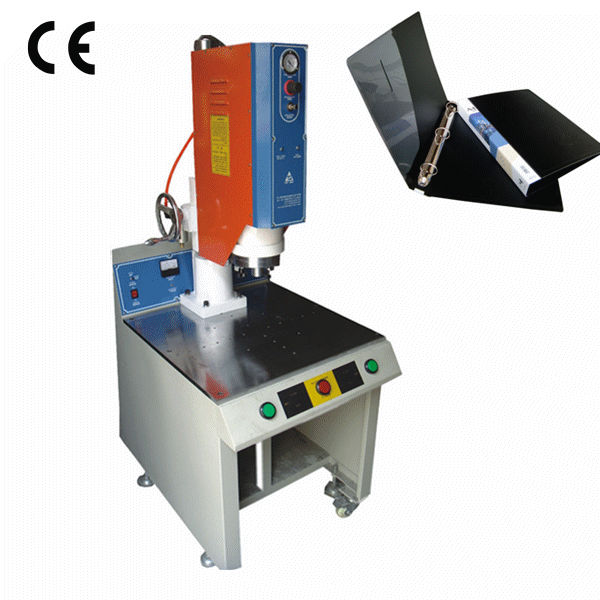 PP File Folder Making Machine/China Ultrasonic Plastic PVC Welding Machinery Low Price