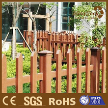 Guangdong for balcony application wpc decorative garden picket fence