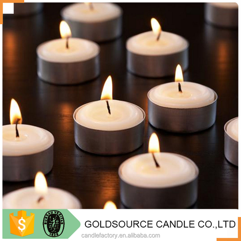 9 hours approx burning time 100 smokeless lead free tealight candles