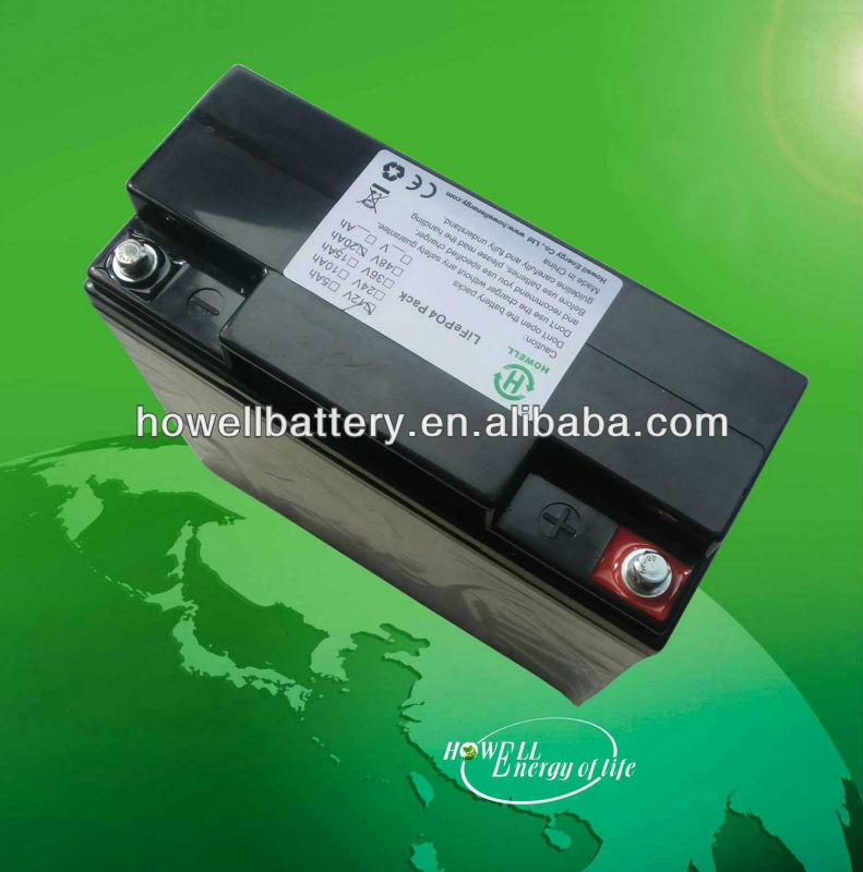 Rechargeable 12v 40Ah lithium battery