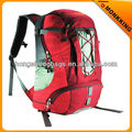 red sports camping trekking hiking backpack