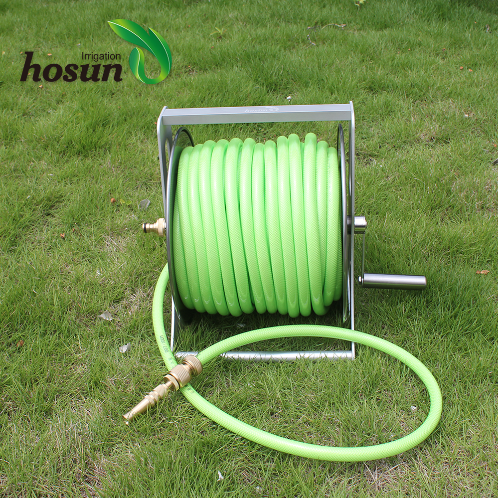 Wall Mounted Garden Hose Reel 50m - Popular Garden 2017