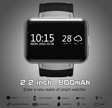 2.2 inch big screen 3G WIFI Android 5.1 OS smart watch phone