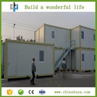 China flat pack homes container office prefab container homes for sale