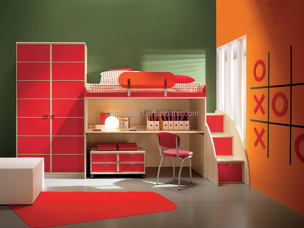 eco friendly wood paint solid colors kids children bedroom furniture