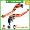 TARAZON brand aluminum alloy adjustable straight brake clutch lever for racing bike