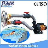Swimming training type swimming pool high pressure jet pump