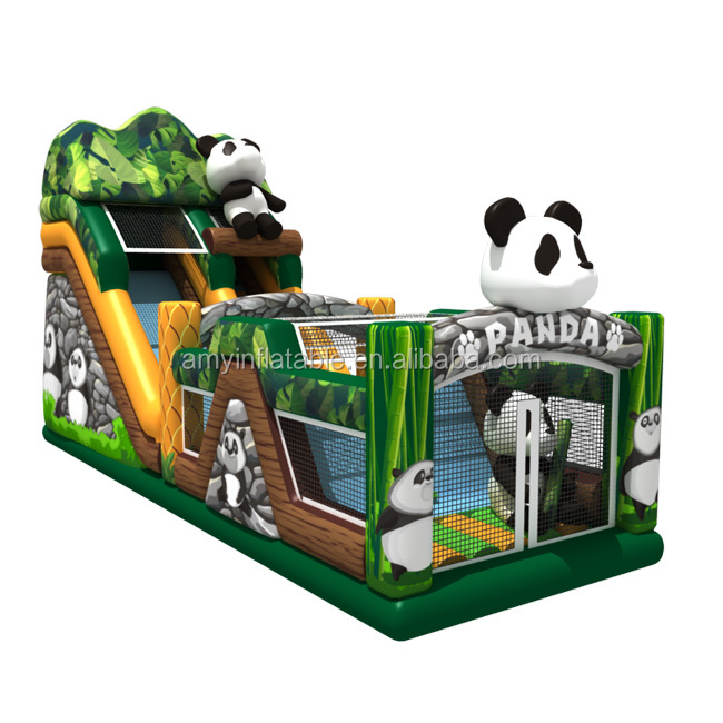 inflatable panda combo