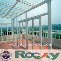 8mm Tempered Glass Awnings and Canopies large