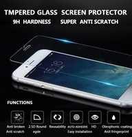 Tempered glass screen protector for iPhone 6 6s 6plus, whole sales screen protector for ipad and samsung from china manufactur .
