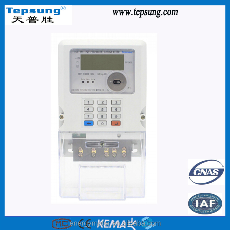 DDSY986 Prepaid Electronic kwh Meter with Existing Prepayment System
