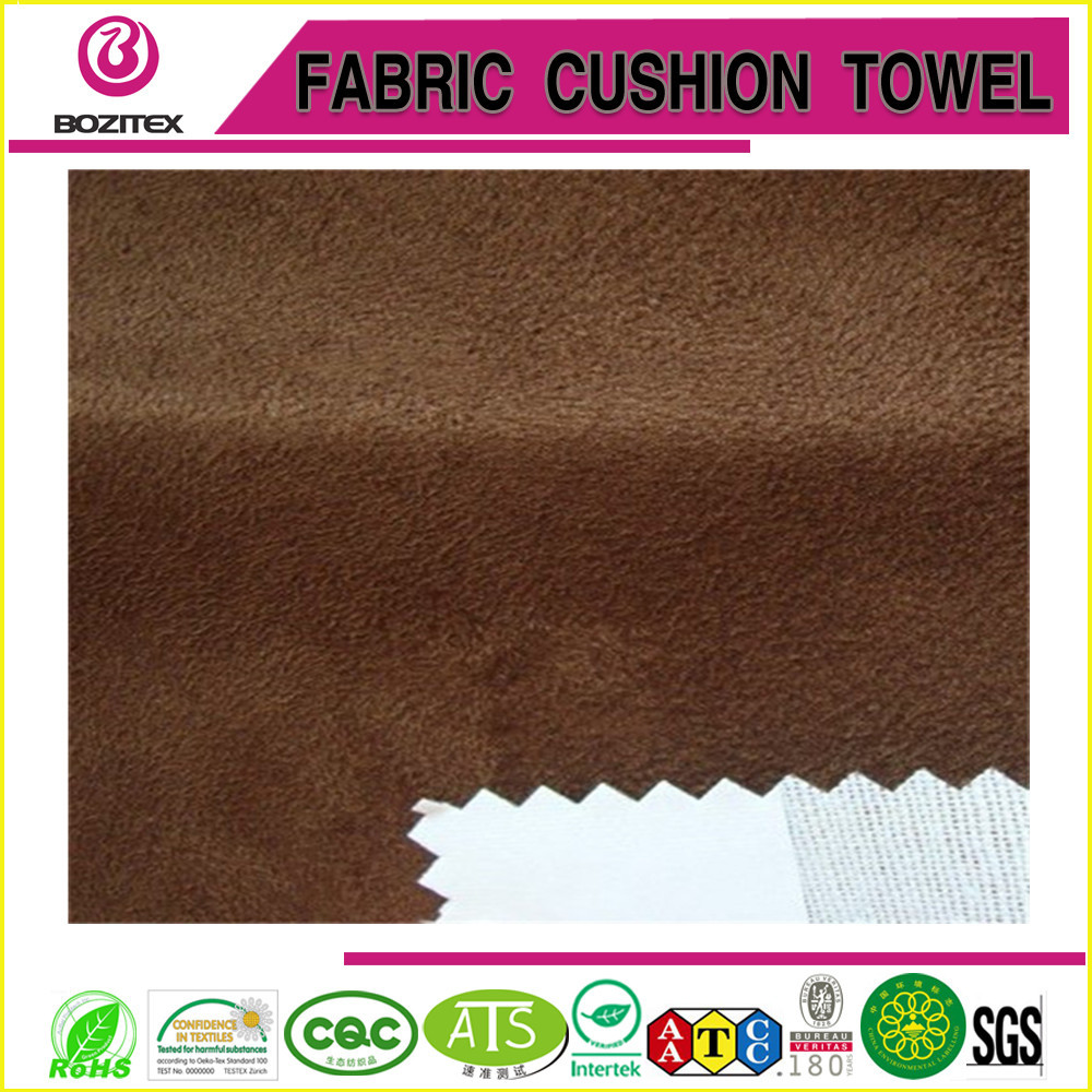 High quality Suede bonded with T/C material for sofa/garments