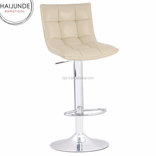 office used big size fabric adjustable and swivel bar stool/chiar and brushed