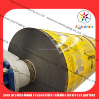 full printing shrink wrap bottle label for liquid shampoo packing