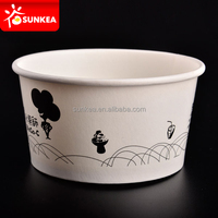 Food grade standard icecream paper cups for European and American market