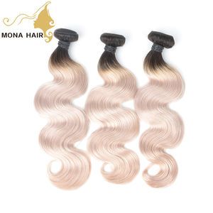 2018 new coming grade 9A 1b/grey 100% human ombre hair braiding hair