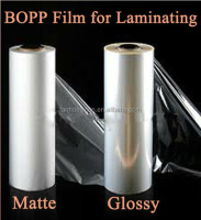 BOPP Thermal Lamination Film, Gloss & Matt Bopp Laminating Film For Printing Hot Laminating Film