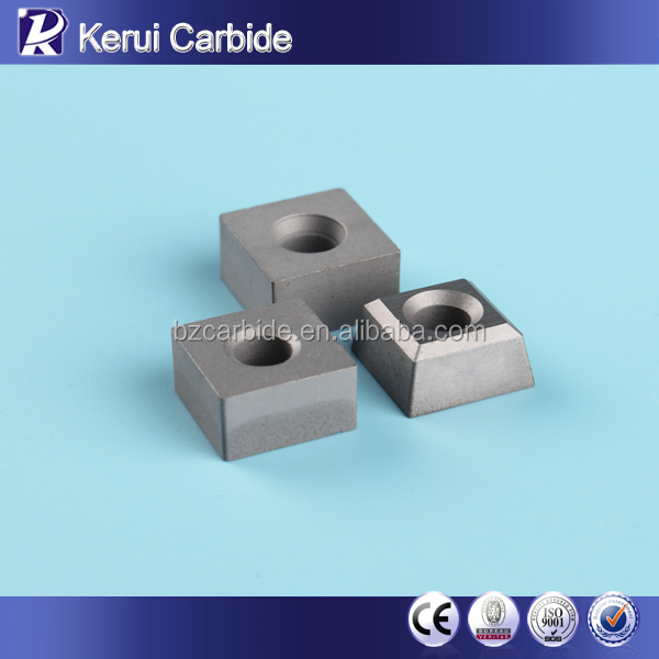 Tungsten Carbide Stone Cutting Inserts For Chain Saw Machine