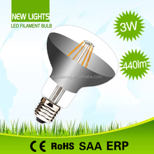 China new products R80 led filament bulb clear glass CE ROHS e27 led bulb lighting