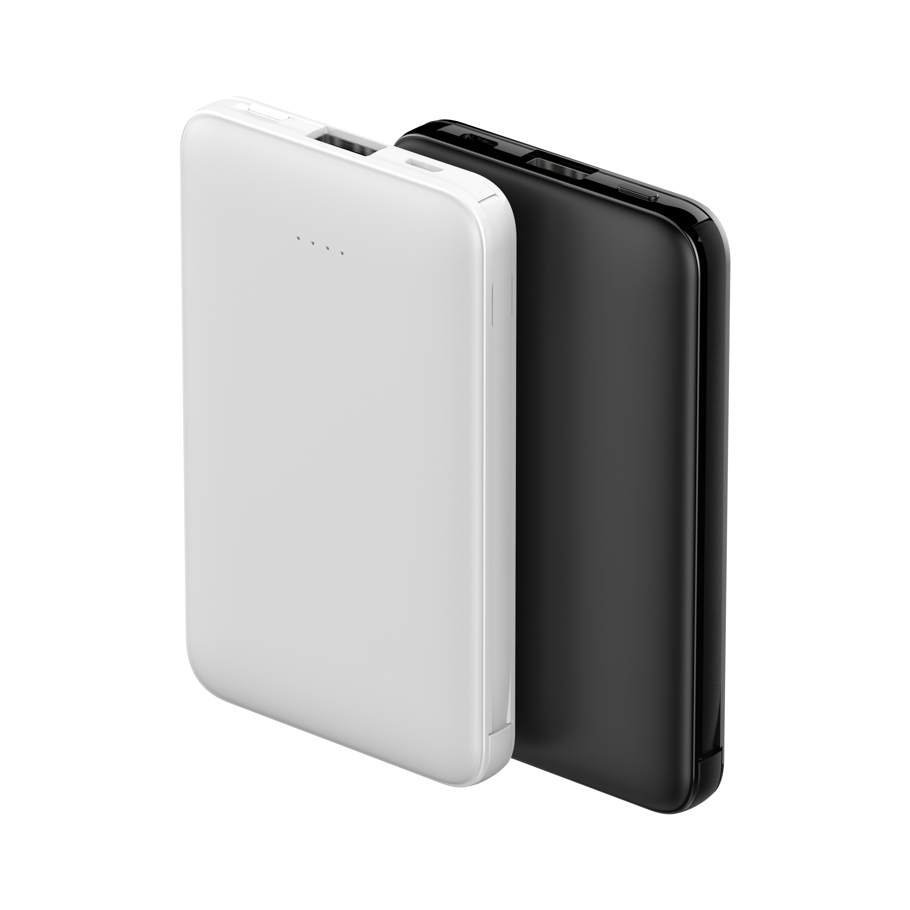 Wholesale Cheap Powerbank 5000 mah Custom Logo Power Bank With Built in Cable Wallet Power Bank multi-used
