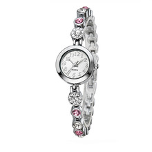 Beautiful Ladies Watch Exquisite Diamond Bracelet Japan Movement Quartz Watch for Women