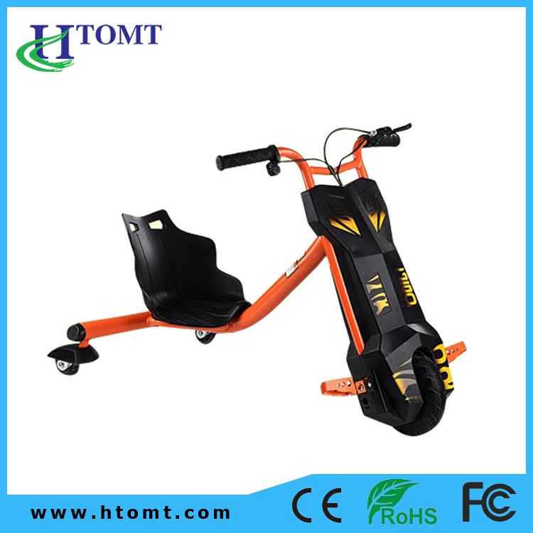 2016 Best Sale Three Wheel Covered Electric Drift Trike Motorcycle Car for all Size Scooter Hoverboard