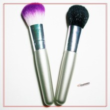 factory colored mini blush <strong>brush</strong> in stock/nylon powder <strong>brush</strong> wholesale/fancy hair makep <strong>brush</strong>