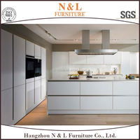 Eurapean standard luxury large white kitchen cabinets
