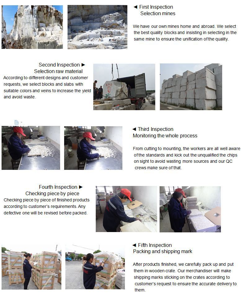 Premium (SELECT) Quality Carrara White marble pencil molding for wholesale