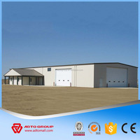 Hot Sale Thermal Insulation Economical Low Cost Long-span Steel Structural Buildings Prefab Construction With Cheap Price