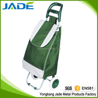 Factory direct supplier new design folding shopping trolley cart/travel luggage bags wholesale