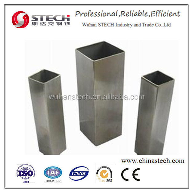best price rectangular/square steel pipe/tubes/hollow section galvanized/black annealing