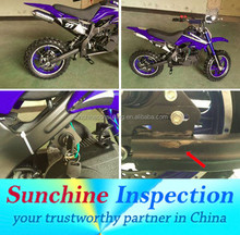 Dirt Bike Final Random Inspection Service and Quality Check and Tests
