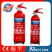 1kg portable dry powder abc fire extinguisher