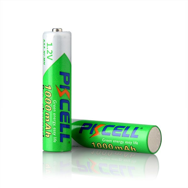 1.2V Ni-MH Low Self Discharge Rechargeable Batteries AAA 1000mAh For Remote Control Car