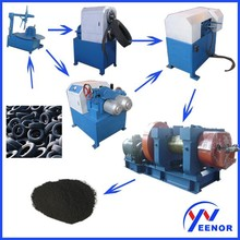 Rubber Powder Making Machine For Tyre Recycling/waste tires to oil recycling machinery