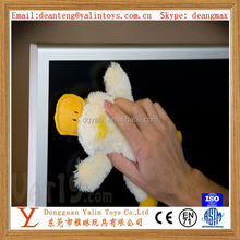 Eco-friendly plush cute duck computer screen cleaner/novelty screen cleaner