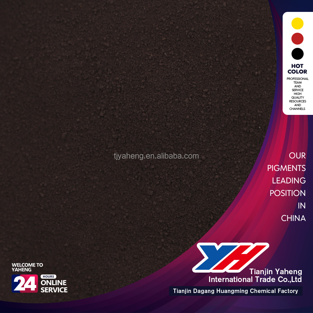 color powder iron oxide black pigments