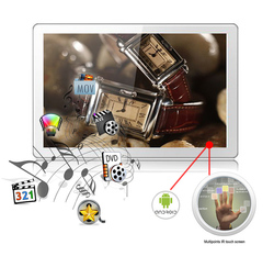 26 inch advertising equipment full hd android hdmi smart tv guangzhou