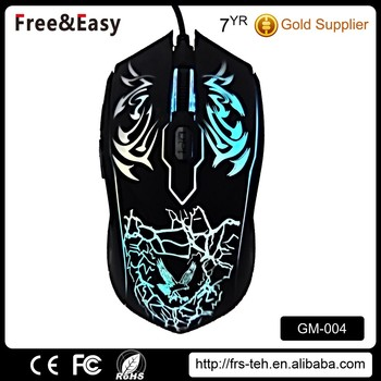 OEM high quality usb receiver good wired gaming mouse