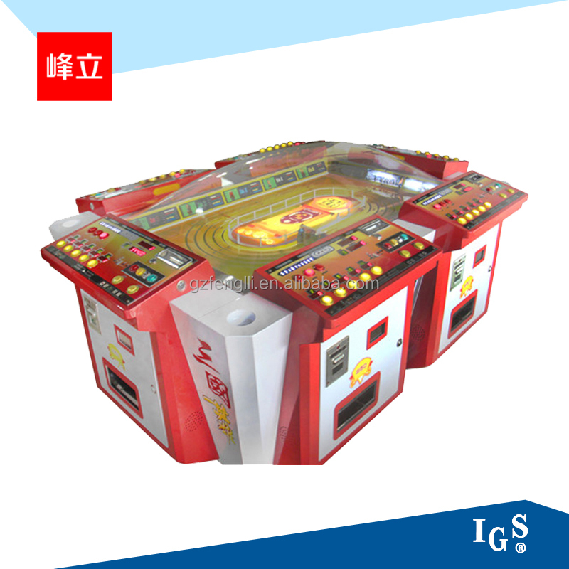 IGS casino Electronic video game machine - The Heroes of The Three Kingdoms