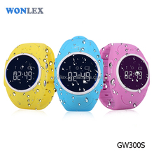 IP67 real waterproof GPS GPRS smart watch for kids |2017 Wonlex GW300S High-End Kids GPS Watch | watch phone for kids with gps
