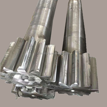 custom gear counter shaft and worm steel hollow shaft