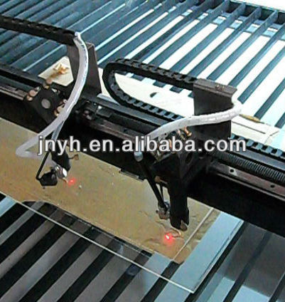 Two head Laser Leather etching system with CE approval YH-1313