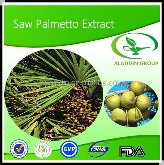 Fatty Acids Content Natural Plant Extract Saw Palmetto